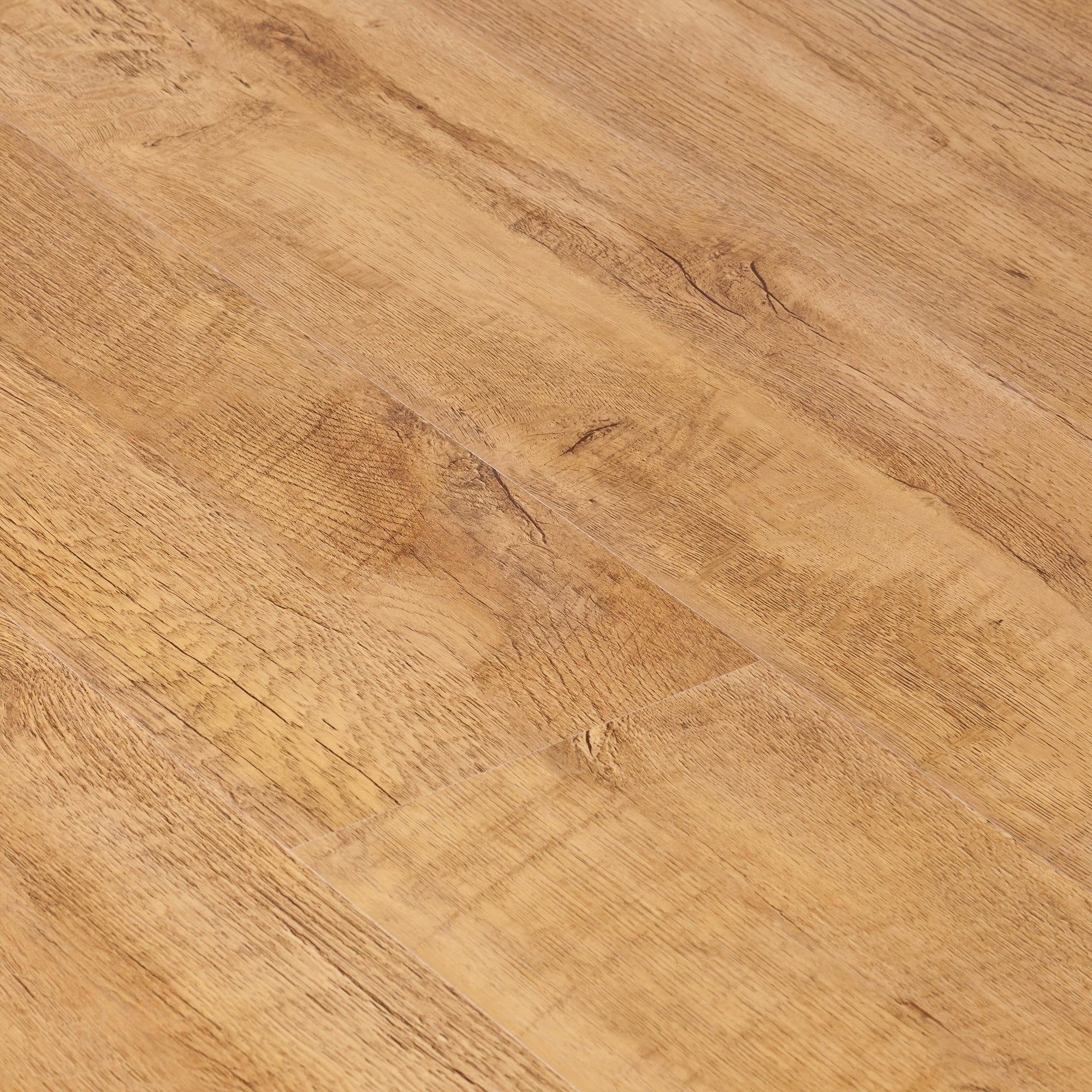 Uk Flooring Direct Harvest Oak Laminate: Krono Original Kronofix 7mm Harvester Oak Laminate