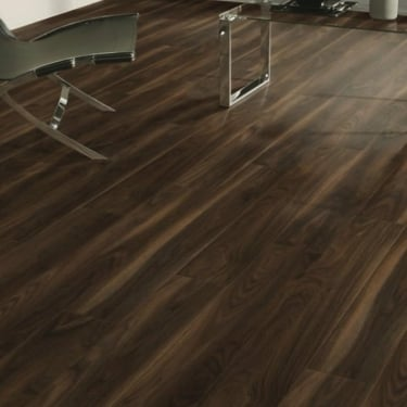 Eurohome Vario+ 12mm Dark Walnut Laminate Flooring (7658)