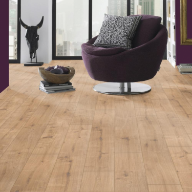 Krono Original Eurohome Vario+ 12mm New England Oak 4v Groove Laminate Flooring (8837)