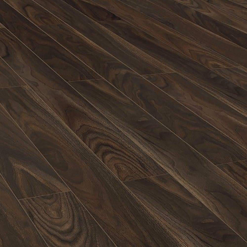 Krono original vario 12mm rich walnut laminate flooring for Walnut laminate flooring