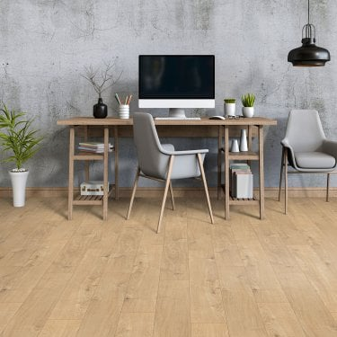 Krono Original Eurohome Vario+ 12mm Sherwood Oak 4V Groove Laminate Flooring (5985)