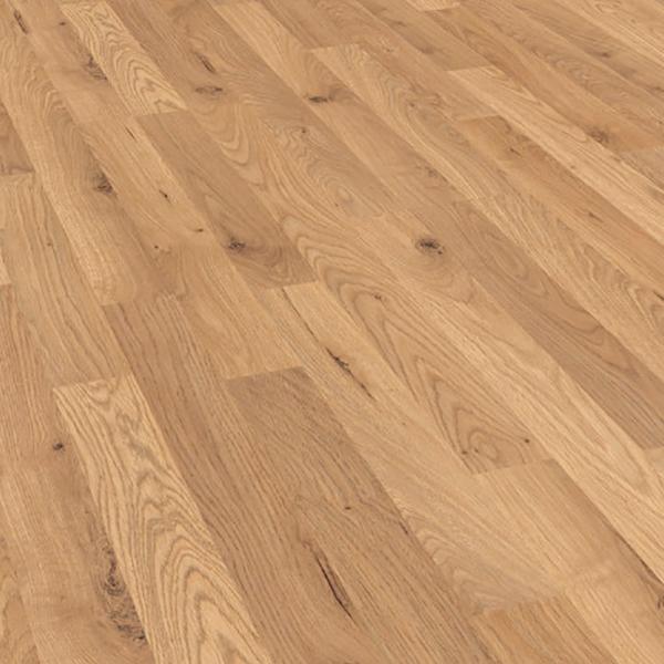 Krono original kronofix 7mm honey oak flat edge laminate for Krono laminate flooring