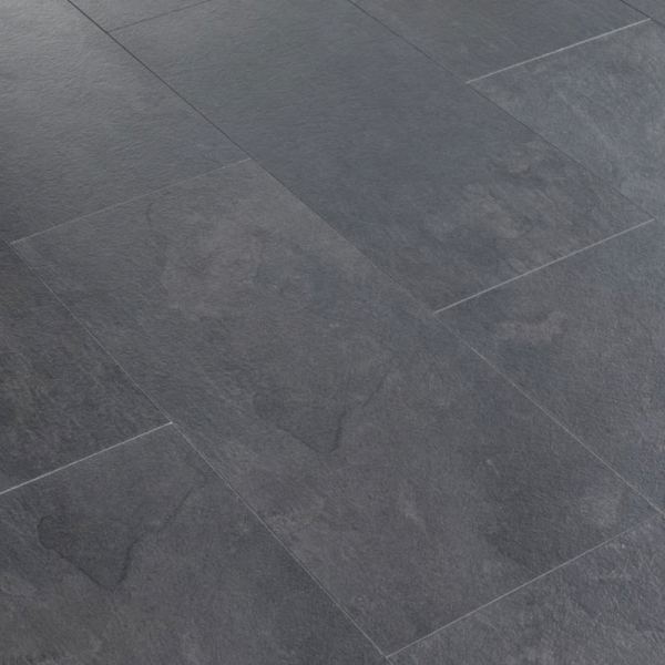 Krono original stone impression 8mm mustang slate stone for Tile laminate flooring sale