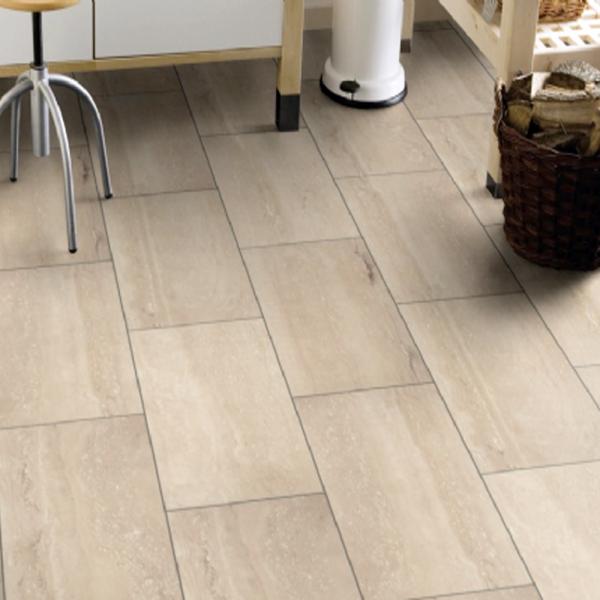 Stone Impression 8mm Palatino Travertine Stone Effect Flooring 8457