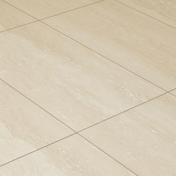 8mm Palatino Travertine Stone Effect Laminate Flooring Leader Floors