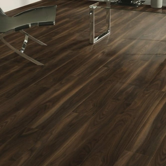 Vario 8mm Dark Walnut Laminate Flooring (7658)