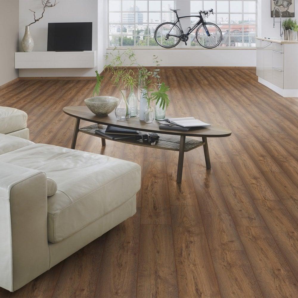 Krono Original Vario 8mm Modena Oak Laminate Flooring