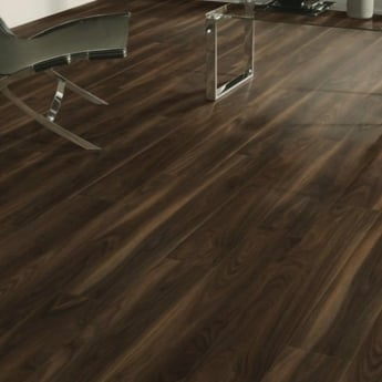 Krono Original Vario 8mm Rich Walnut 4V Groove Laminate Flooring (7658)