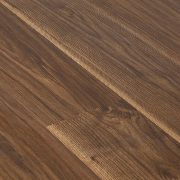 Krono original vario 8mm virginia walnut laminate flooring for Walnut laminate flooring