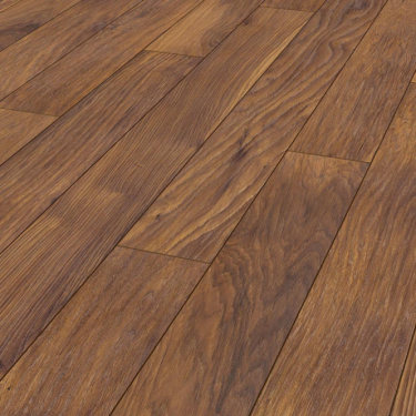 Vintage Classic 10mm Handscraped Red River Hickory Laminate Flooring (8156)