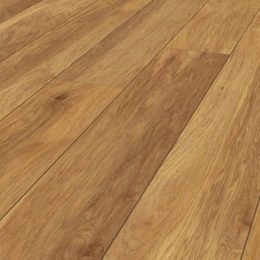 Vintage Classic 10mm Penfold Hickory 4v Groove Handscraped Laminate Flooring (KO55)