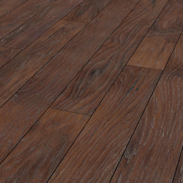 Vintage Classic 10mm Smokey Mountain Hickory 4v Groove Handscraped Laminate Flooring (8157)
