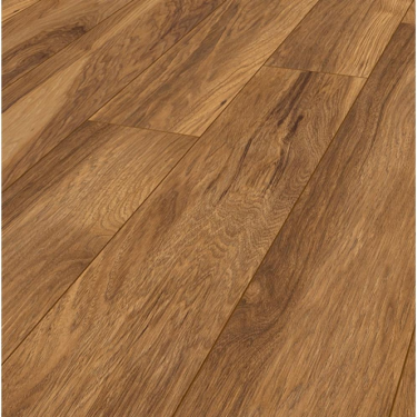 Vintage Narrow 10mm Handscraped Appalachain Hickory Laminate Flooring (8155)