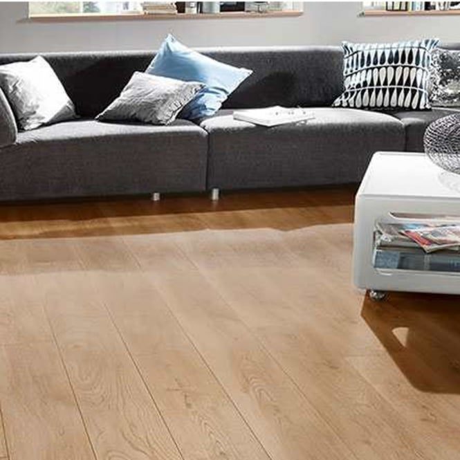 Krono Original Vintage Narrow 10mm Historic Oak 4v Groove Handscraped Laminate Flooring (5947)