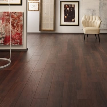 Krono Original Vintage Narrow 10mm Smokey Mountain Hickory 4v Groove Handscraped Laminate Flooring (8157)