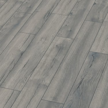Exquisite 8mm Pettersson Grey Oak Laminate Flooring (D4765)