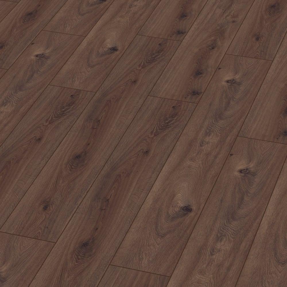 Kronotex exquisite prestige oak dark laminate flooring for Exquisite laminate flooring