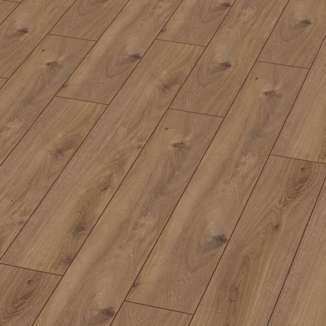 Exquisite 8mm Prestige Oak Nature 4V Groove Laminate Flooring (D4166)
