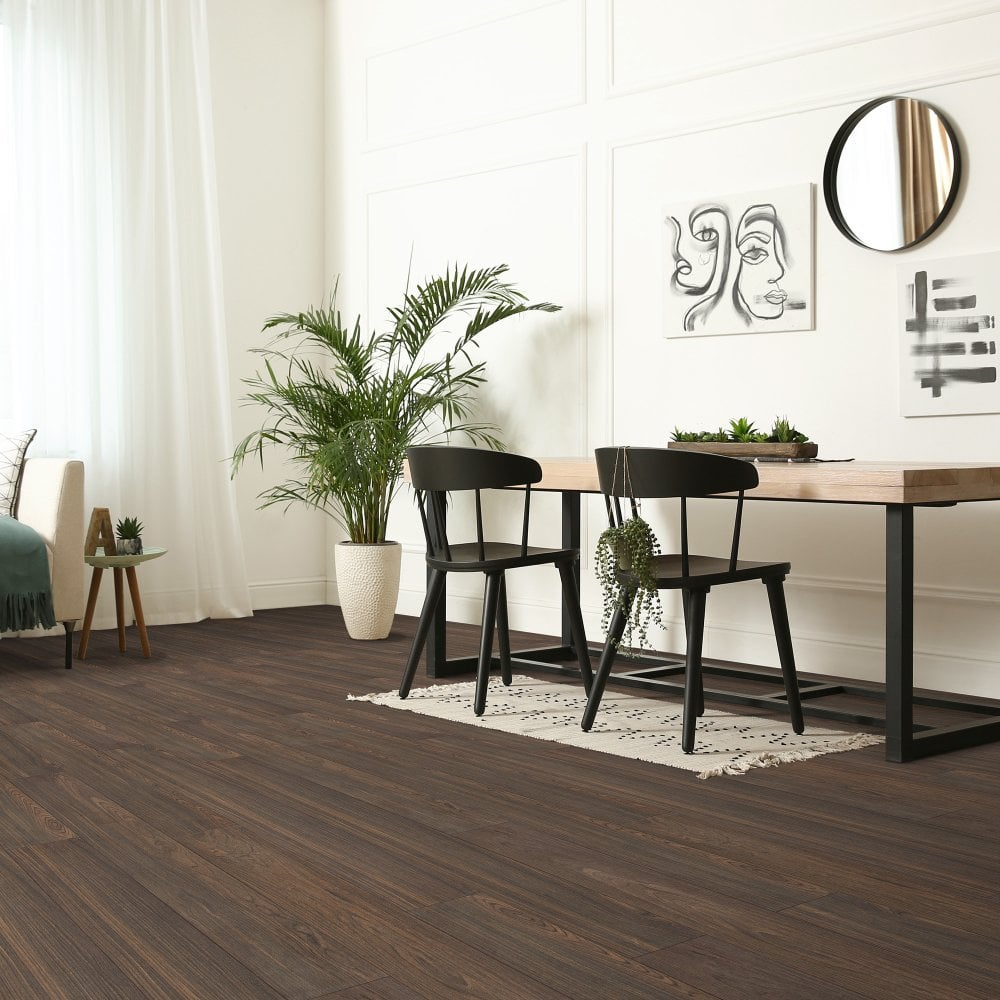 Kronotex exquisite tuscany walnut laminate flooring for Exquisite laminate flooring