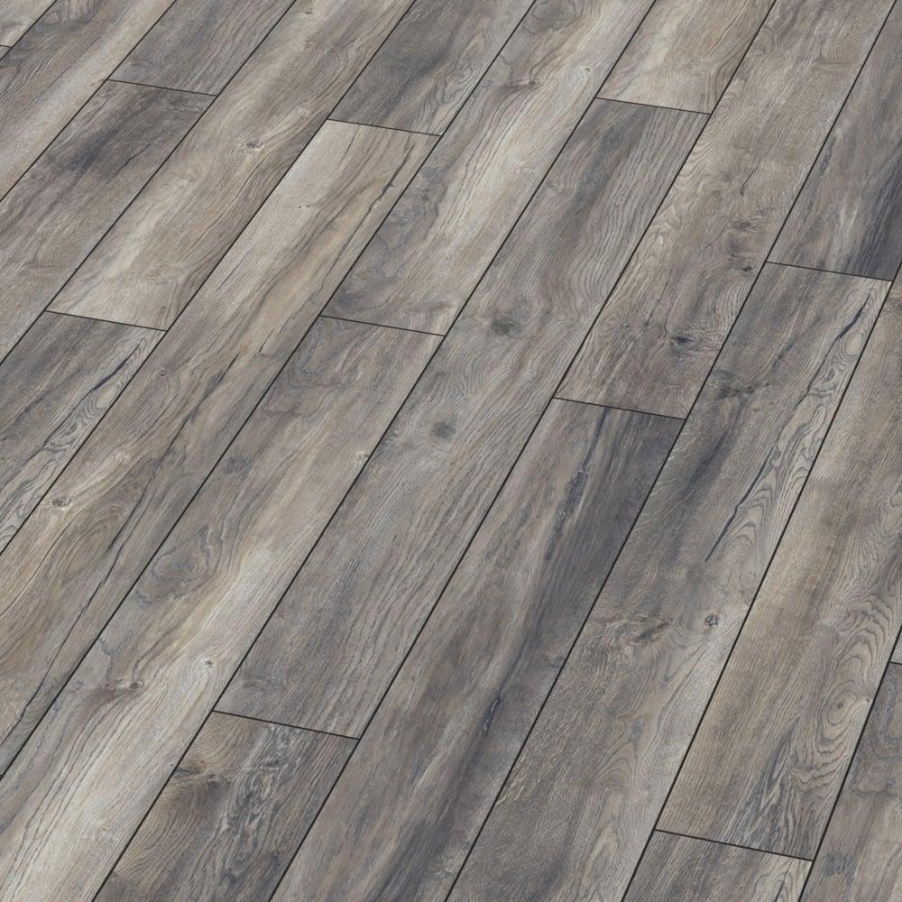 Kronotex Villa Harbour Grey Oak Laminate Flooring Leader