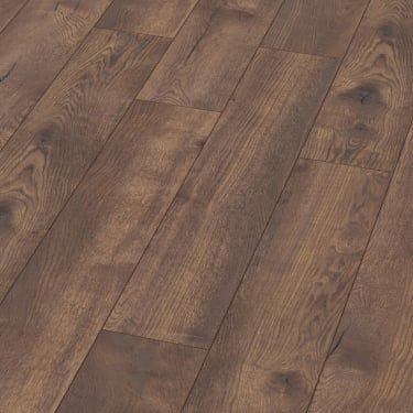 Villa 12mm Pettersson Dark Oak Laminate Flooring (M1221)