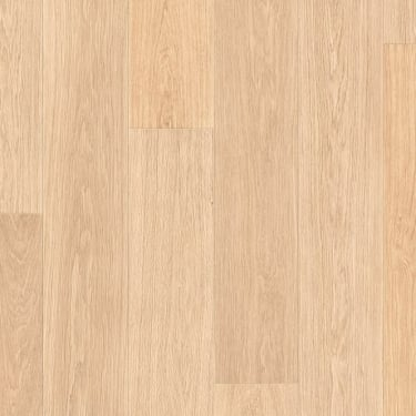 Largo 9.5mm White Varnished Oak Laminate Flooring (LPU1283)