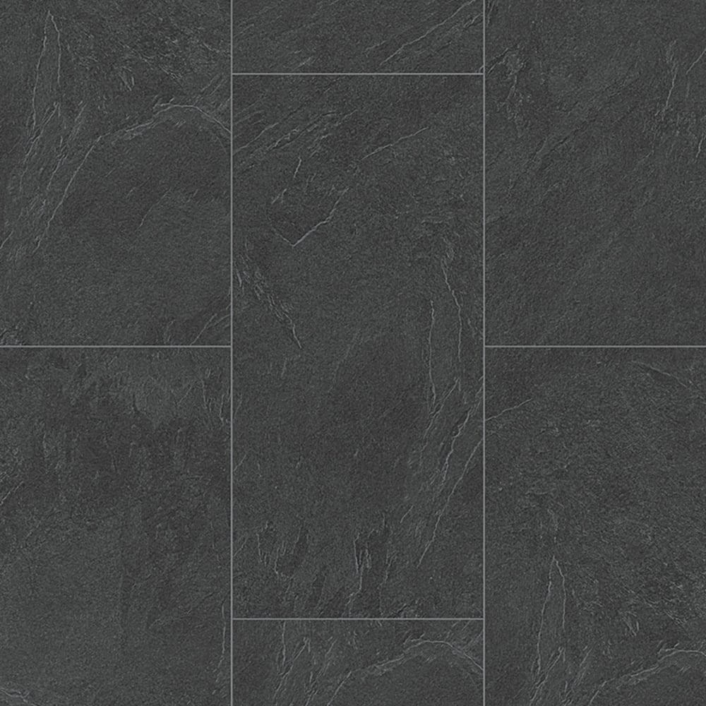 Wood Plus Lb85 Classic Slate Anthracite Laminate Tile