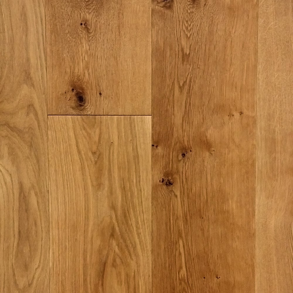 Wood flooring lifestyle rustic oak 20 6x191mm brushed for Engineered oak flooring