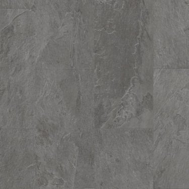 Livyn Ambient Click 4.5mm Grey Slate Matt Waterproof Tile Luxury Vinyl Flooring (AMCL40034)