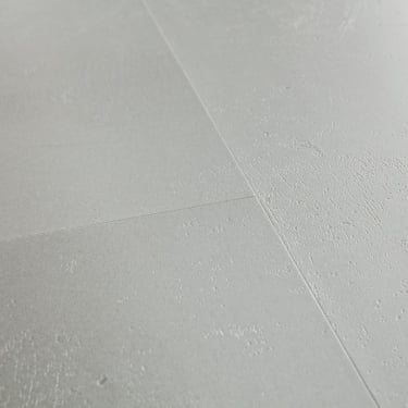 Livyn Ambient Click 4.5mm Minimal Light Grey Matt Waterproof Tile Luxury Vinyl Flooring (AMCL40139)