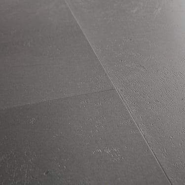 Livyn Ambient Click 4.5mm Minimal Medium Grey Matt Waterproof Tile Luxury Vinyl Flooring (AMCL40140)