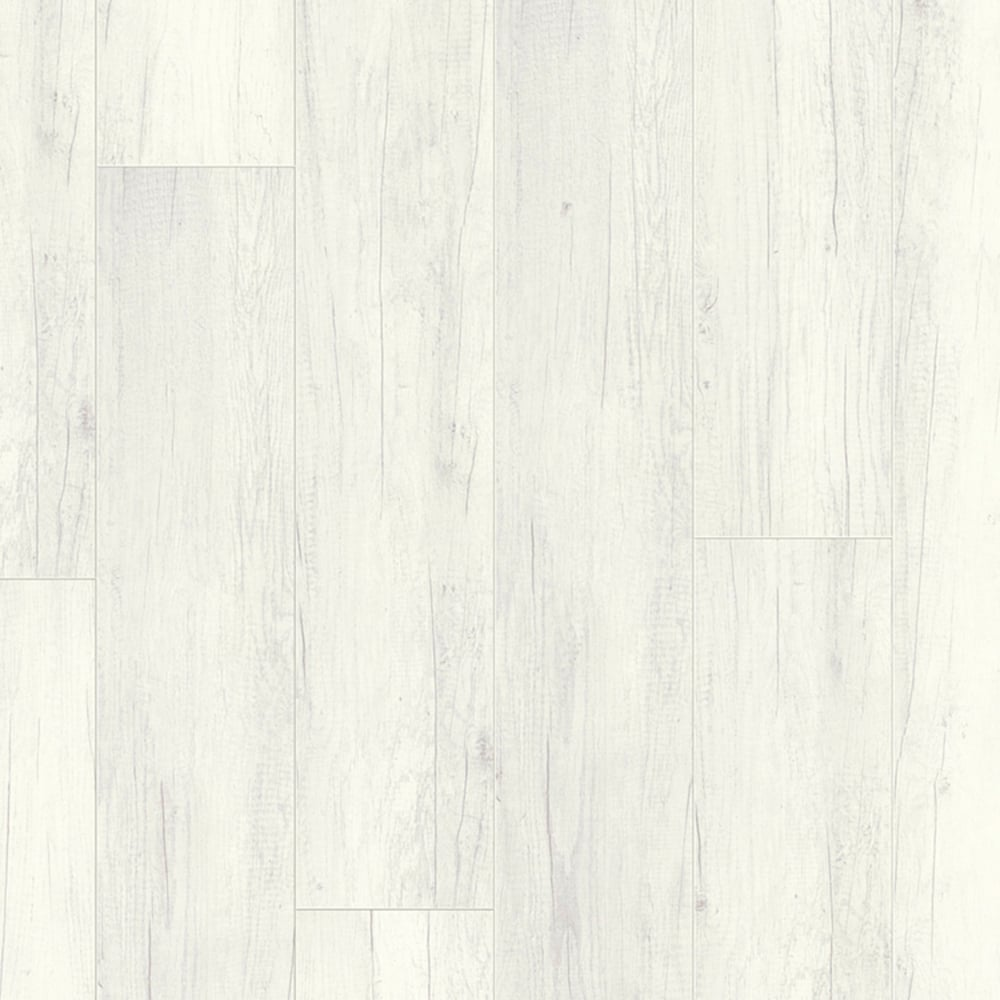 Wood Plus Ls300 Talamo Opaque White Oak Laminate Flooring