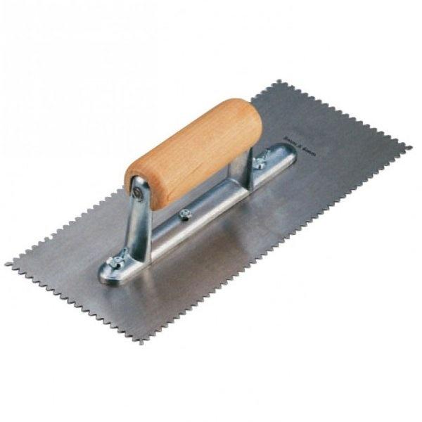 A2 Trowel Notch : Luvanto a notched trowel leader floors