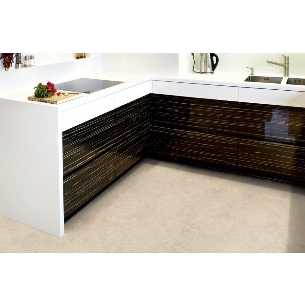 luvanto click 4mm beige stone tile vinyl flooring leader floors. Black Bedroom Furniture Sets. Home Design Ideas