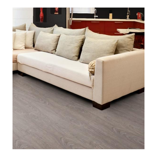 Luvanto Click Washed Grey Oak Luxury Vinyl Flooring