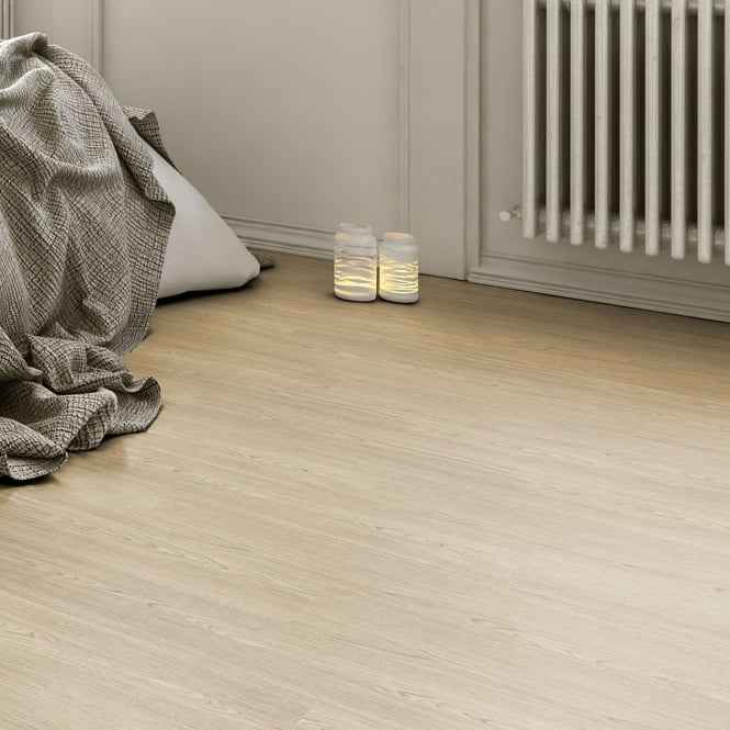 Glue Down Wood Effect Natural Oak Deep Emboss 152x914mm Luxury Vinyl Flooring Plank (QAF-LVP-01)