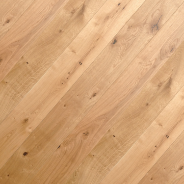 Masters Choice 20mm x 190mm Oak Brushed & UV Oiled Engineered Real Wood Flooring (723180232L)