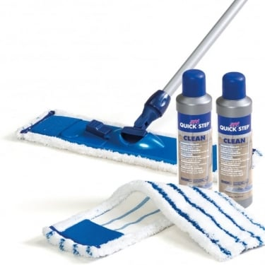 Quickstep Microfibre Floor Cleaning Kit
