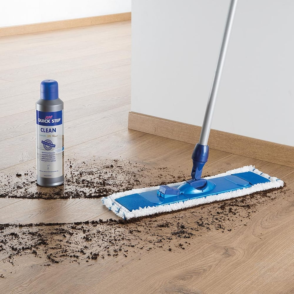 Quickstep microfibre floor cleaning kit leader floors for Floor cleaning