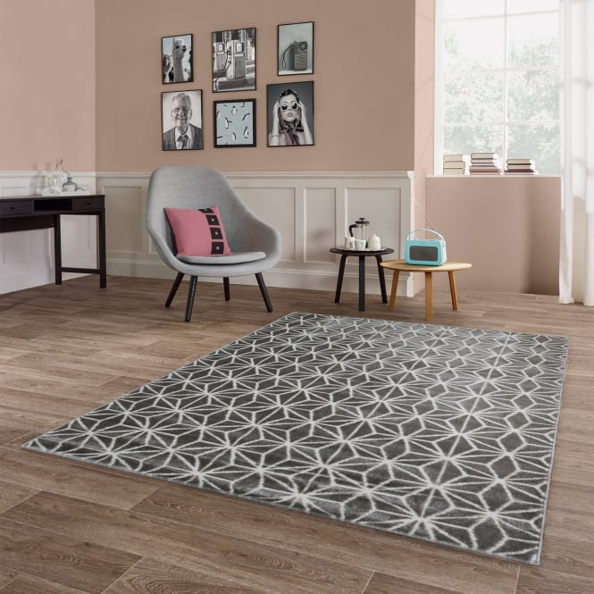 Forever Rugs Model 40106-070 Argyle Diamond Rug
