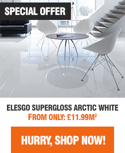 Elesgo Supergloss Arctic White High Gloss Flooring Sale - Shop Now!