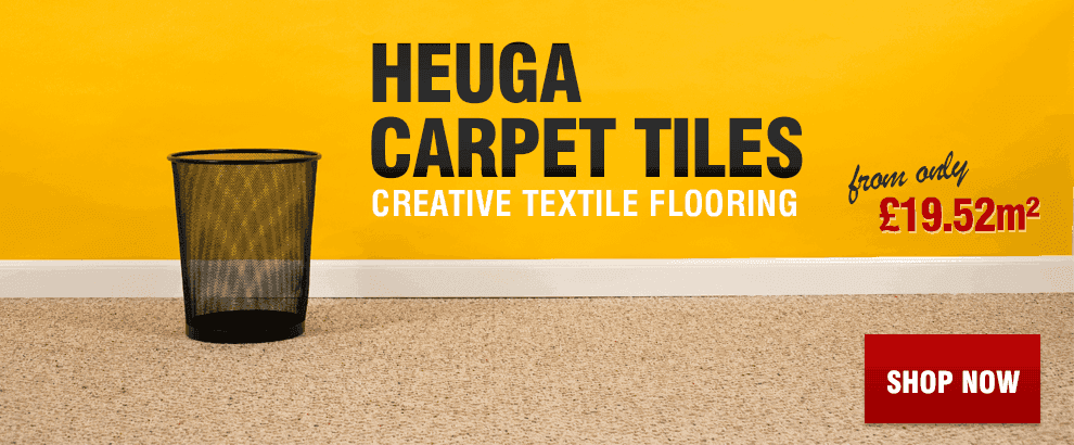 Heuga Carpet Tiles Available at Leader Floors