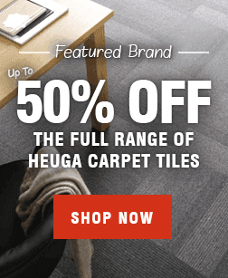 Heuga Carpet Tiles at Leader Floors