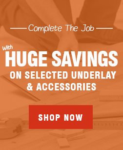 Huge Savings on Accessories at Leader Floors