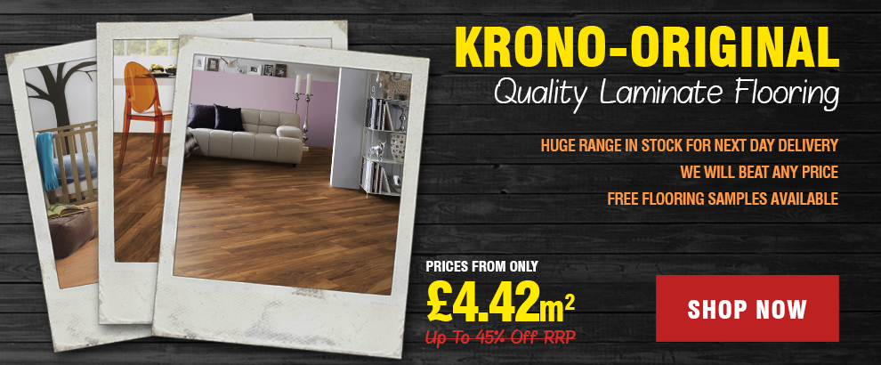 Krono-Original Laminate Flooring From £3.99m2