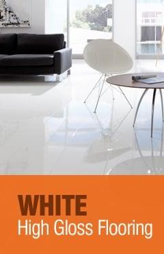 White High Gloss Flooring