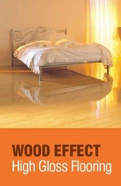 Wood Effect High Gloss Flooring