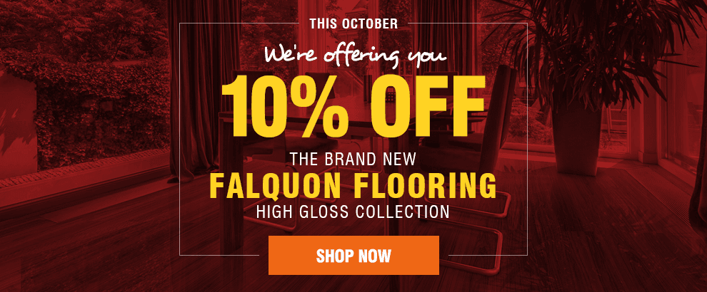 Save an Extra 10% off Falquon Flooring!