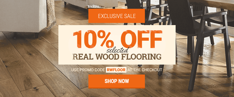 April - Real Wood Flooring Sale