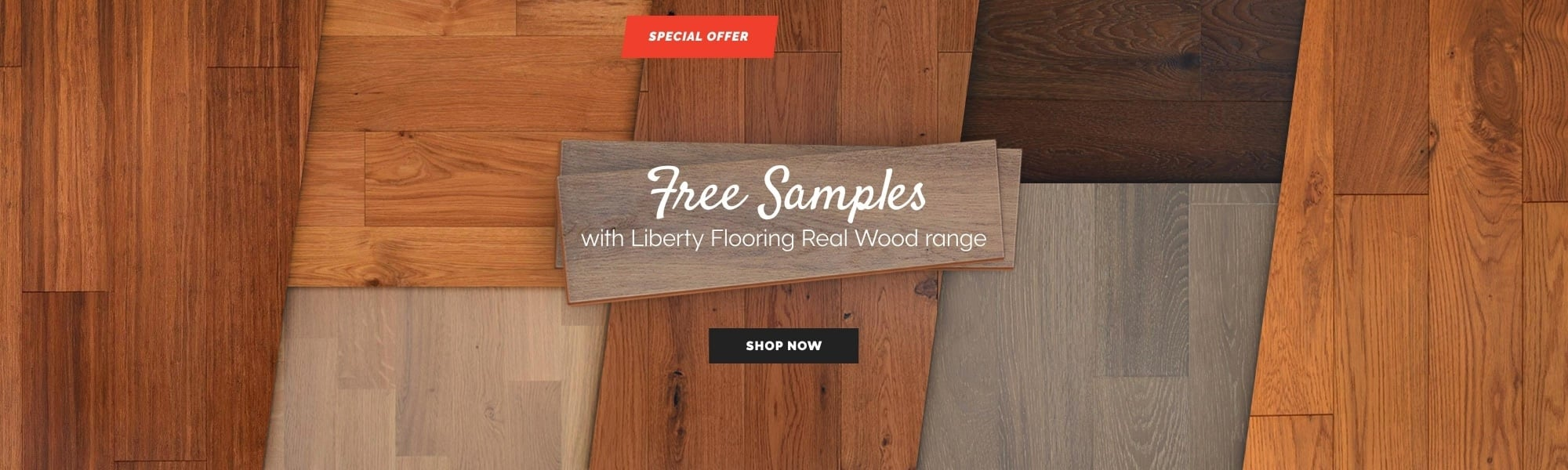 Free Samples with Liberty Flooring Real Wood